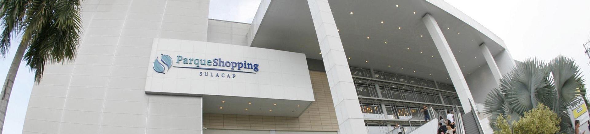 Imagem panorâmica do Shopping